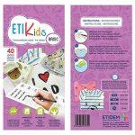 ETIKids 40 Étiquettes de vêtements personnalisables pour la garderie et l'école. (basic) de la marque Haberdashery Online image 3 produit