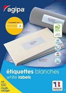etiquettes enveloppes gratuites TOP 4 image 0 produit