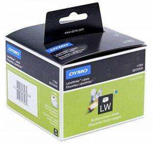 Etiquettes Multi-usage DymoLW, 57mm x 32mm (Rouleau de 1000Etiquettes), Impression en Noir sur Fond Blanc, Auto-adhésives (S0722540) de la marque DYMO image 0 produit