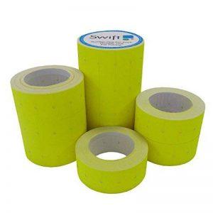 etiquettes pour etiqueteuse prix JAUNE 22 x 12mm (yellow) de la marque Swift image 0 produit