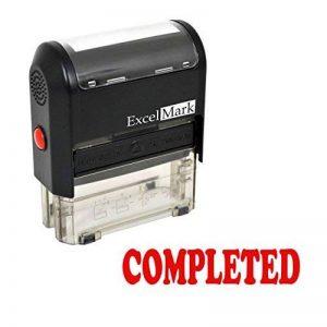 Excelmark Complété auto-encreur Tampon en caoutchouc–ENCRE Rouge (42a1539web-r) de la marque ExcelMark image 0 produit
