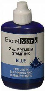 Excelmark Tampon encreur recharge d'encre–2G–ENCRE BLEUE de la marque ExcelMark image 0 produit