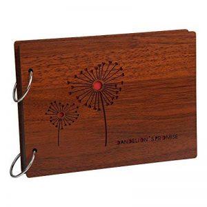 Farway DIY scrapbook album en bois photo livre anniversaire graduation album voyage histoire de l'amour mémoire - La promesse du pissenlit(Dandelion's promise) de la marque Farway image 0 produit