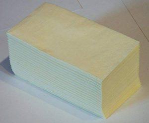 FASANA Lot de 100 serviettes en papier à 2 épaisseurs Beige clair Code couleur : buttercream 359 Serviettes 1/8 falz 33 x 33 cm 13 cm de la marque Servietten von FASANA image 0 produit