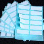 File Folder Labels Nom étiquette de classement enveloppes étiquettes Prix Stickers Bouteille Tasse Blanc rectangle à imprimer Set A de la marque Aneco image 4 produit