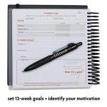 fitbook BLACK : nutrition et entraînement Journaux de bord de la marque Fitlosophy image 1 produit