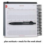 fitbook BLACK : nutrition et entraînement Journaux de bord de la marque Fitlosophy image 3 produit