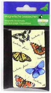 Fridolin Nature Fun: Papillons Marque-page magnétique Multicolore de la marque Fridolin image 0 produit