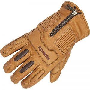 Gants de cuir de moto Spada Rigger sable imperméable à l'eau de la marque Spada image 0 produit