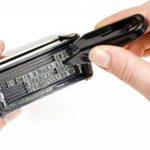Genie S-884 Tampon auto-encreur max. 5 lignes avec accessoires et cassette d'encrage noire, Argent de la marque Genie image 2 produit