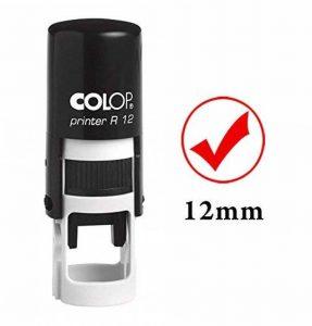 GOOD Timbre à auto-encrage Mini Rubber Colop ronde enseignants décoratifs Timbres 12mm de la marque Printtoo image 0 produit