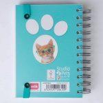 Grupo Erik Editores Studio Pets–Agenda Scolaire en français avec motif chat, 11.4x 16cm de la marque Grupo Erik Editores image 2 produit
