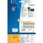 Herma 4103 Étiquettes en plastique 63,5 x 38,1 A4 LaserCopy Doré de la marque HERMA image 3 produit