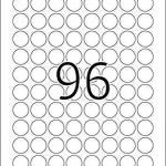 Herma 4386 Étiquettes movables/amovibles diamètre 20 A4 2400 pièces Blanc de la marque HERMA image 1 produit