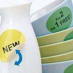 Herma 4386 Étiquettes movables/amovibles diamètre 20 A4 2400 pièces Blanc de la marque HERMA image 4 produit