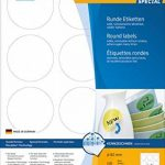 Herma 4477 Étiquettes movables/amovibles diamètre 60 A4 1200 pièces Blanc de la marque HERMA image 2 produit
