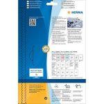 Herma 4511Nom Étiquettes résidus (63,5x 29,6mm, textile, autocollantes, badges, imprimable Lot de 540sur 20feuilles DIN A4), blanc de la marque HERMA image 3 produit