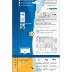 Herma 5066 Étiquettes movables/amovibles diamètre 40 A4 Blanc de la marque HERMA image 3 produit