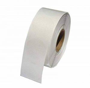 Hybsk Rouleau de 500 autocollants/étiquettes rondes pour fermer les emballages Transparent 3,8cm de la marque Hybsk image 0 produit