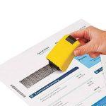 ID protection auto-encreur Bloquer le vol d'identité Erase-it Rolling Tampon de confidentialité par Clever Ours de la marque CLEVER BEAR image 4 produit