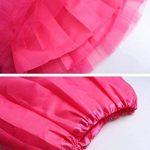 InnoBase 80s Adulte Tutu Pettiskirt D'élastique Mini Robe 1980s Costume Accessories Organza Jupe pour Femme Girls 8 Couleurs de la marque InnoBase image 4 produit