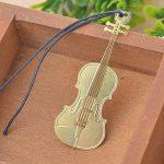 Instrument de musique 6pcs Marque-page en métal–Amupper Cuted Plaqué or 18K Acier inoxydable livre Mark de la marque Amupper image 2 produit