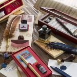 J.herbin 31024T boîte de 10 bâtonnets de cire à cacheter avec bankier cerisier de la marque J. Herbin image 2 produit