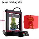 JGAURORA A5 Imprimante 3D de mis à jour des imprimantes extrême de grande précision avec la grande taille de 305 * 305 * 320mm de la marque JG AURORA image 2 produit