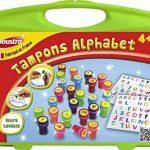Joustra - 41475 - Tampons À Imprimer - Mallette Alphabet de la marque Joustra image 2 produit
