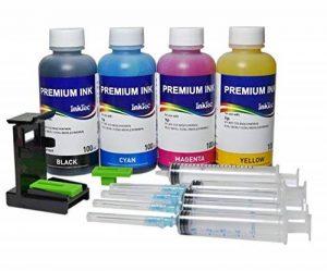 Kit PREMIUM Photo INKTEC Encre de recharge de cartouches d'origine HP 301 301XL pour imprimante Deskjet 1010 de la marque Stampa-Continua image 0 produit