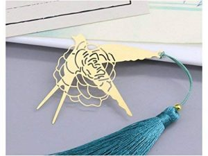 L'apprentissage Rose Signet Marque-page en métal creux hirondelle livre marques pour accessoires de bureau à imprimer de la marque AHIMITSU image 0 produit