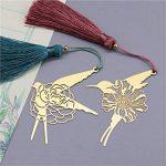 L'apprentissage Rose Signet Marque-page en métal creux hirondelle livre marques pour accessoires de bureau à imprimer de la marque AHIMITSU image 1 produit