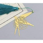 L'apprentissage Rose Signet Marque-page en métal creux hirondelle livre marques pour accessoires de bureau à imprimer de la marque AHIMITSU image 2 produit