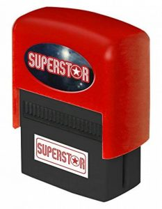 La Carterie Superstar Tampon encreur personnalisé de la marque La Carterie image 0 produit