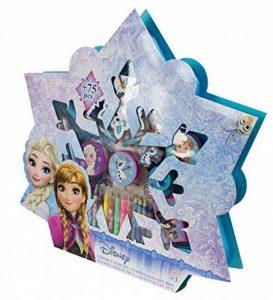 La Reine des Neiges - Cfro002 - Kit De Loisirs Créatifs - Coffret - Flocon De 75 Pièces - Bleu de la marque Disney image 0 produit
