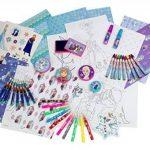 La Reine des Neiges - Cfro002 - Kit De Loisirs Créatifs - Coffret - Flocon De 75 Pièces - Bleu de la marque Disney image 2 produit