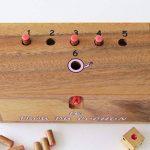 LE TROU DU COCHON ® jeu de société familial en bois massif de 2 à 6 joueurs – à partir de 4 ans - exclusivité LEDELIRANT ® - Norme CE - partie rapide - jeu de voyage - jeux d' apéro. de la marque LEDELIRANT image 3 produit
