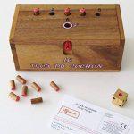 LE TROU DU COCHON ® jeu de société familial en bois massif de 2 à 6 joueurs – à partir de 4 ans - exclusivité LEDELIRANT ® - Norme CE - partie rapide - jeu de voyage - jeux d' apéro. de la marque LEDELIRANT image 2 produit