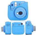 Leebotree 10 en 1. Accessoires pour Appareil Photo Fujifilm Instax Mini 9, Mini 8 / 8+, Le package comprend un étui, un album, une lentille pour selfie, des filtres colorés, des cadres pour suspendre au mur, un stylo, des cadres et collants à mettre sur l image 1 produit