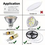 Liqoo® 0.5A 6W Transformateur LED Transfo DC 12V Driver Alimentation AC 110V - 240V à DC 12V Convertisseur Pour Ampoule MR16 G4 G9 et Ruban LED 12V de la marque Liqoo image 2 produit