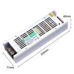 Liqoo Transformateur LED Driver DC 12V Transfo 400W 33A Alimentation AC 110V - 260V à DC 12V Convertisseur Pour LED Ruban LED Ampoule MR16 MR11 de la marque Liqoo image 4 produit