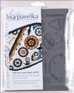 Lisa Pavelka Stamp Set, Steampunk-innie et Outtie de la marque Lisa Pavelka image 0 produit