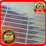 Lot de 100 étiquettes hologramme avec numéros de série, autocollant garanti 48 x 7,5 mm de la marque Holomarks image 2 produit
