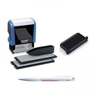 Lot Tampon à faire soi-même Printy Typomatic 4912T + 1 Cassette d'encrage 4912 Original + 1 Stylo Blumie. de la marque Blumie Shop image 0 produit