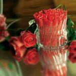 Louisiana Lot de 48 flacons à bulles de savon - Blanc - Avec tige en forme de cœur - Très mignon pour un mariage, baptême, anniversaire, noces d'or, fiançailles, Saint Valentin, fête - Décor idéal pour des photos splendides - Rot de la marque Louisiana image 4 produit