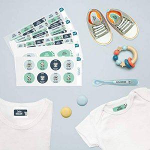 Ludilabel - Pack d'étiquettes autocollantes et thermocollantes personnalisées pour la Crèche - Animaux de la marque Ludilabel image 1 produit