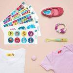 Ludilabel - Pack d'étiquettes autocollantes et thermocollantes personnalisées pour la Maternelle - Disney Princesses de la marque Ludilabel image 1 produit
