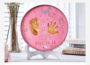 Main et Pied de bébé d'encre Pad pour nouveau-né mains empreintes Cent-jours Cadeau pour adulte pour les mains et les pieds d'encre Permanent souvenirs de la marque Live Stories image 0 produit