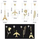 Marque créative de la Tour Eiffel Book Book Label Decoration Gift de la marque Black Temptation image 1 produit