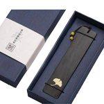 Marque-page en bois naturel fait main Signets Cadeaux # 1 de la marque Black Temptation image 0 produit